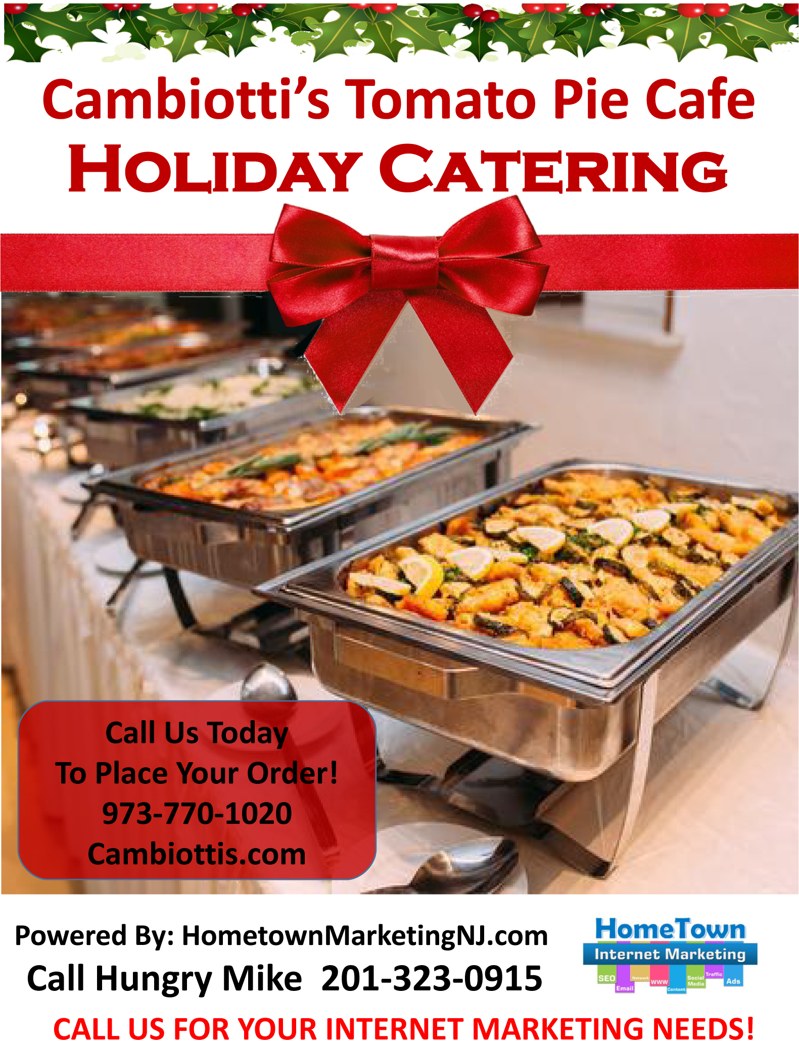 cambiottis holiday catering